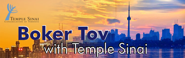 Boker Tov with Temple Sinai